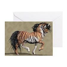 Tiger Unicorn Greeting Card