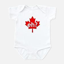 Canadian eh? Infant Bodysuit