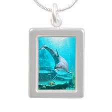 dol_iPad 3 Folio Silver Portrait Necklace
