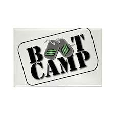 Boot Camp Survivor Rectangle Magnet