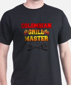Colombian Grill Master Apron T-Shirt