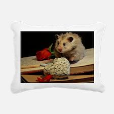 Hamster 1 Rectangular Canvas Pillow