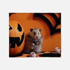 Hamster 10 Throw Blanket