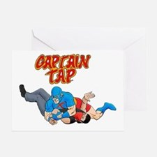 Captain Tap Greeting Card