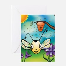 May Your Day Bee Sunny! Greeting Card