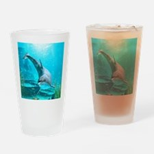dol_round_2_ornament_ Drinking Glass