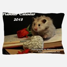 Hamster Calendar 2013 Pillow Case
