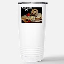 Hamster Calendar 2013 Stainless Steel Travel Mug