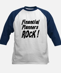 Financial Planners Rock ! Kids Baseball Jersey