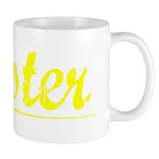 Wester, Yellow Small Mug