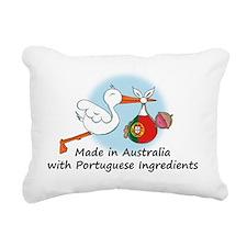 stork baby port aus Rectangular Canvas Pillow