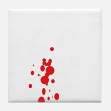 Darts and blood Tile Coaster
