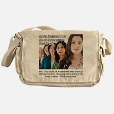 Rape Messenger Bag