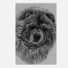 Chow  Chow Dog Headstody  Postcards (Package of 8)