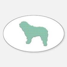 Paisley SWD Oval Decal