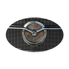 Special Oval Car Magnet