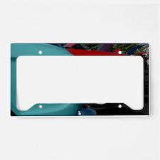 Color Run License Plate Holder