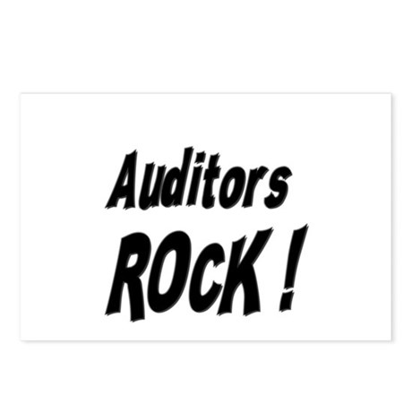 Auditors Rock ! Postcards (Package of 8)