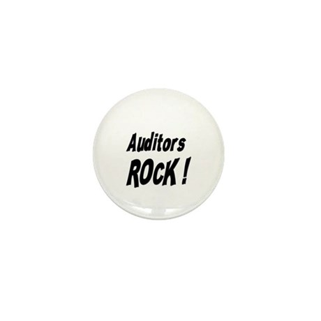 Auditors Rock ! Mini Button