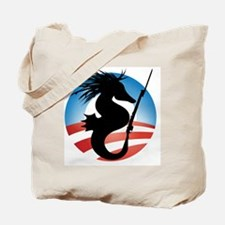 Seahorse and Bayonet Tote Bag