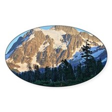 Mt Shuksan over Picture Lake Decal