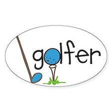 Golfer Decal