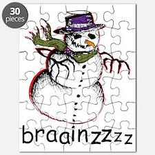 Zombie snowman Puzzle