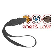 Sports Lover Luggage Tag