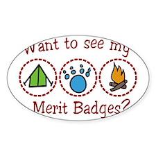 Merit Badges Bumper Stickers