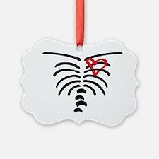 Rib cage Ornament