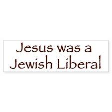 Jewish Liberal Bumper Bumper Sticker