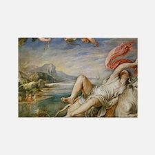 Rubens Vintage Painting Rectangle Magnet