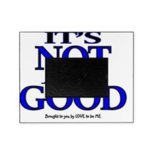 ITS NO ALL GOOD - LOVE TO BE ME Picture Frame