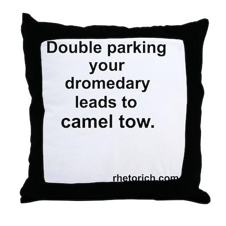 camel Tow 2 Throw Pillow