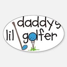 Daddys Lil Golfer Decal