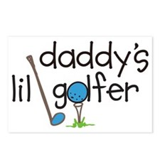 Daddys Lil Golfer Postcards (Package of 8)