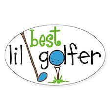 Best Lil Golfer Decal