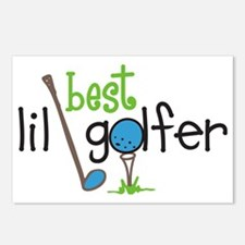 Best Lil Golfer Postcards (Package of 8)