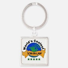 son in law Square Keychain