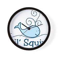 Lil Squirt Wall Clock