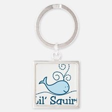 Lil Squirt Square Keychain