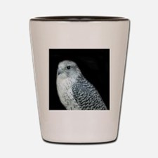 GyrFalcon out on the town Shot Glass