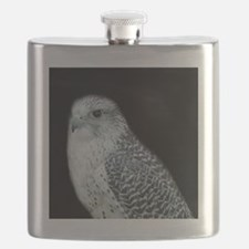 GyrFalcon out on the town Flask