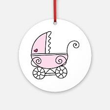Stroller Round Ornament