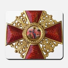 Order of Saint Anna Cross Mousepad