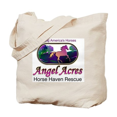 Angel Acres Horse Haven Rescue Tote Bag