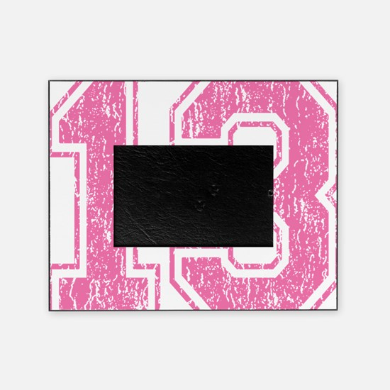 Retro 13 Pink Picture Frame