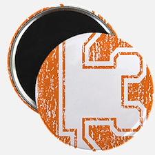 Retro 13 Orange Magnet