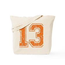 Retro 13 Orange Tote Bag