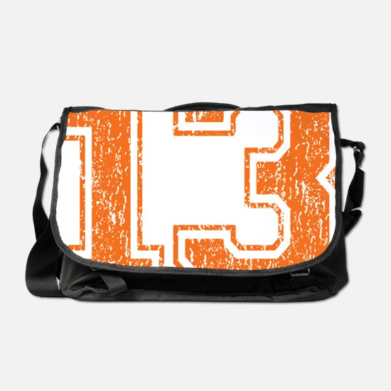 Retro 13 Orange Messenger Bag